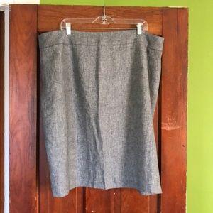 Calvin Klein pencil skirt, 20W